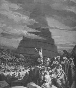 The Confusion of Tongues by Gustave Doré (1865)