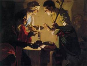 Esau Selling His Birthright  (c. 1627) by Hendrick ter Brugghen