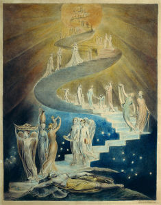 Jacob's Dream by William Blake (c. 1805)