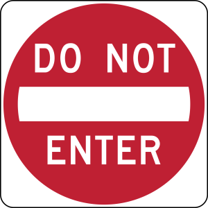 do-not-enter
